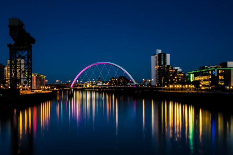 Reflections in The Clyde
