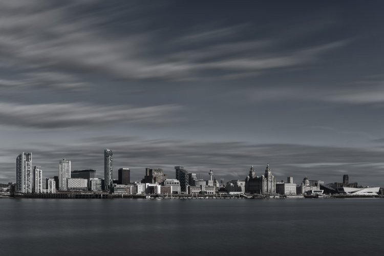 Liverpool Skyline from across the Mersey
