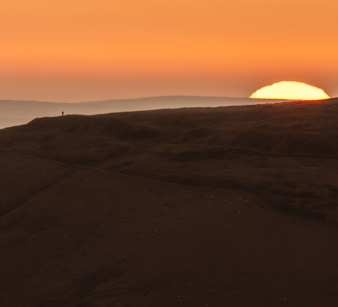 Sunrise over Mam Tor