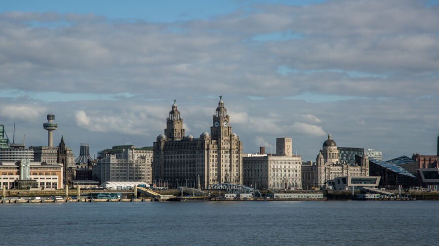 Liverpool over the Mersey